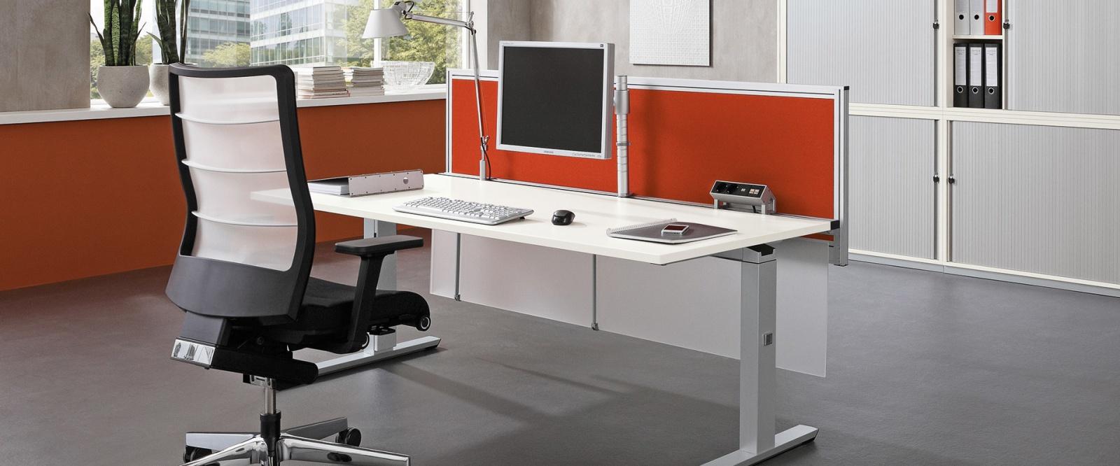 ergonomisches b rozubeh r bildschirmhalter monitorarme vorlagenhalter bk. Black Bedroom Furniture Sets. Home Design Ideas